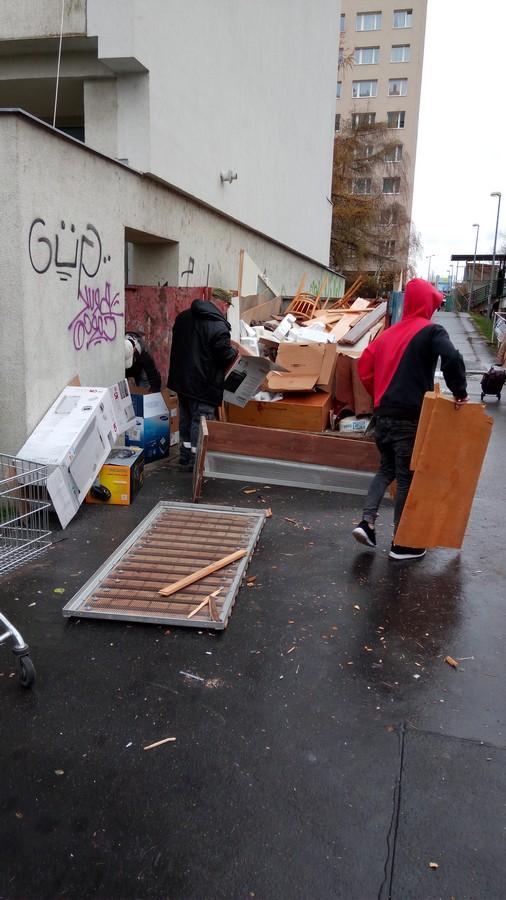 Vyklízení bytu (Praha 7)